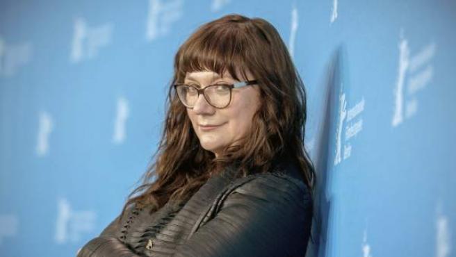 """La directora española Isabel Coixet posa durante la presentación de su última película """"Nadie quiere la noche"""", que compite dentro de la sección oficial de la 65ª edición de la Berlinale."""