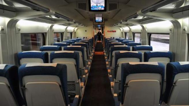 Interior de un tren Ave.