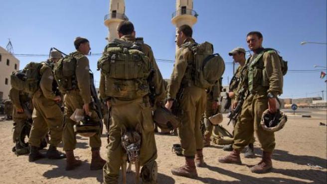 Un grupo de soldados israelíes, en una imagen de archivo.