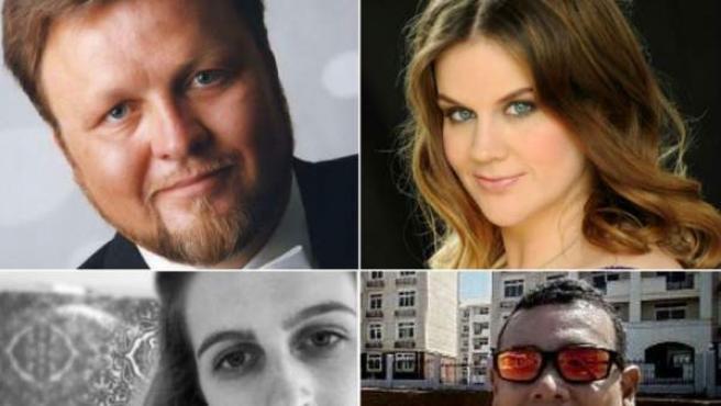 Oleg Bryjak, Maria Radner, Ariadna Falguera y Luis Eduardo Medrano Aragón, entre los fallecidos en el accidente del avión de Germanwings.