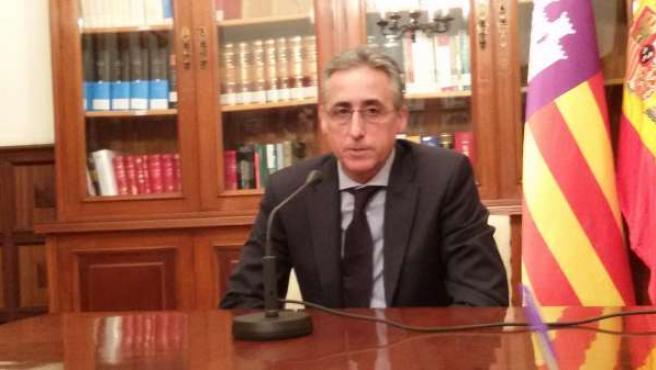 El presidente de la Audiencia Provincial de Baleares, Diego Gómez-Reino