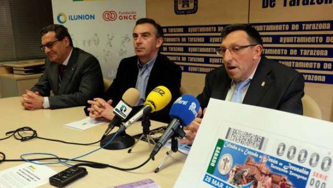Presentación del Cupón de la ONCE en Tarazona