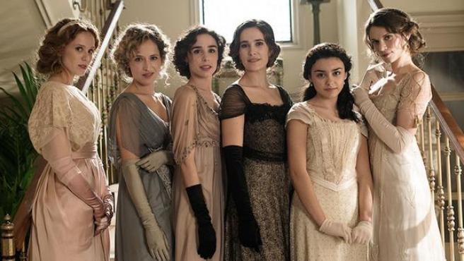Seis hermanas: Mujercitas en Downton Abbey
