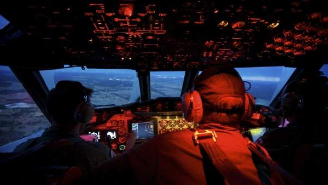Cabina de vuelo de un avión, en una imagen de archivo.
