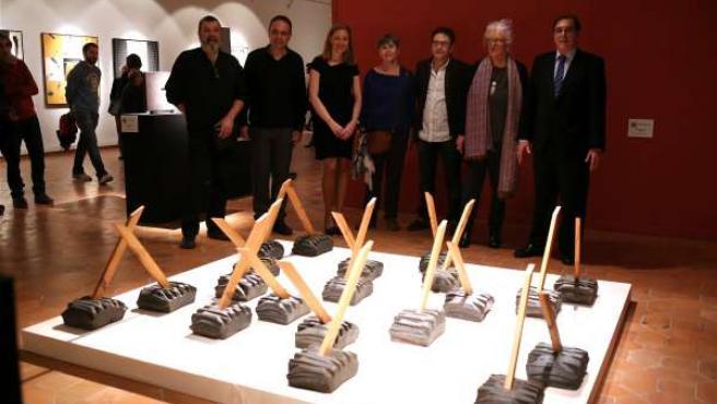 Inaugurada la muestra 'Ciudades Perdidas', en el Taller Escuela de Muel.