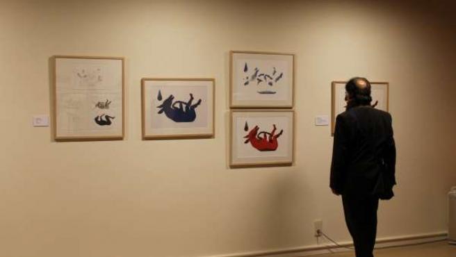 Isidro Ferrer muestra su 'Vida y Color'.