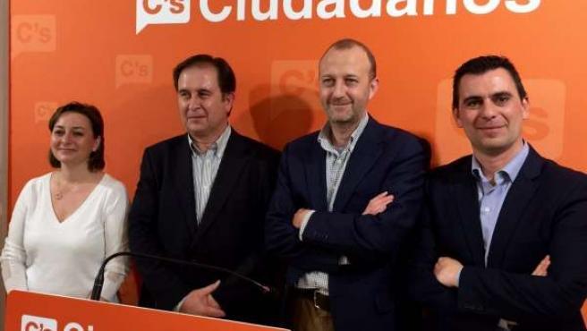 Los cuatro miembros de la lista de Ciudadanos por Valencia elegidos este sábado