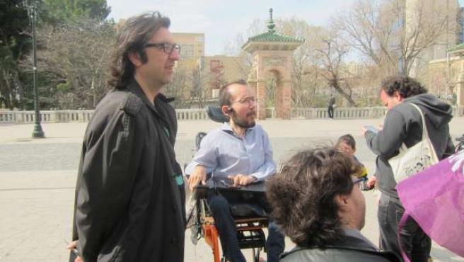 El secretario general de Podemos-Aragón, Pablo Echenique.