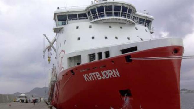 El carguero Kvitbjorn
