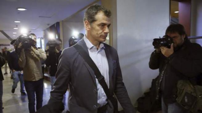El diputado de UPyD Toni Cantó, en el Consejo Político del partido en Madrid.