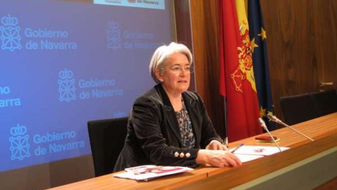 La consejera de Economía, Hacienda, Industria y Empleo, Lourdes Goicoechea