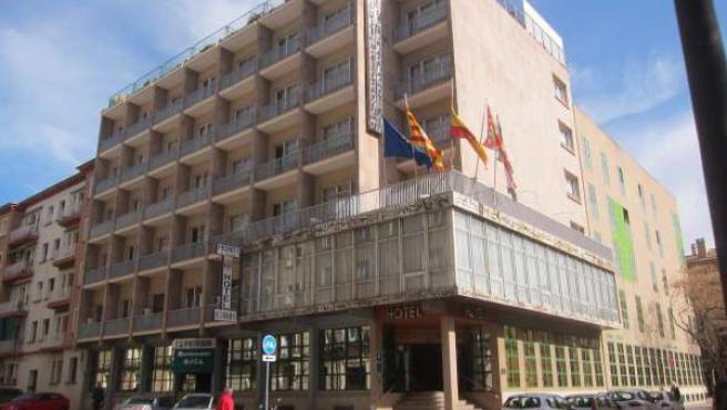 Uno de los hoteles de la capital altoaragonesa