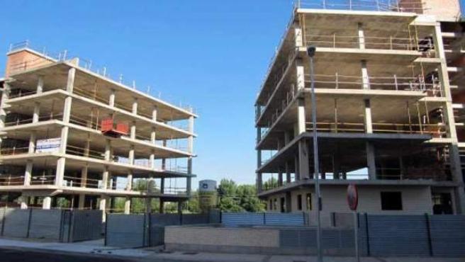 Los visados para construir viviendas nuevas aumentaron casi un 40% en enero