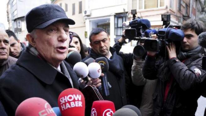 Fotografía de archivo fechada el 14 de febrero de 2011 del exgeneral del Ejército turco Cetin Dogan.