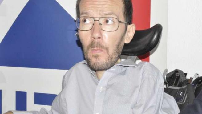 Pablo Echenique, secretario general de Podemos.