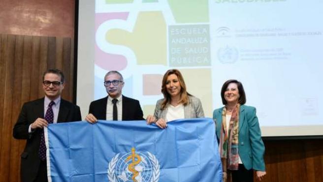 Susana Díaz en la EASP