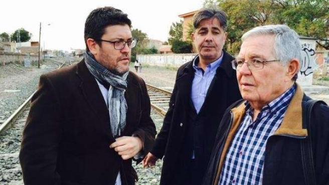 Sánchez, de Ciudadanos, con Centenero y Contreras