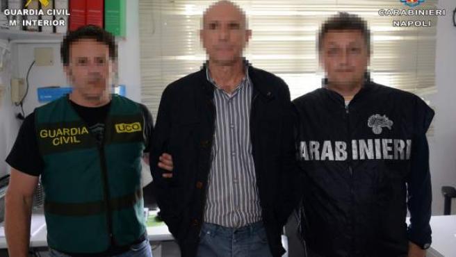Detenido en Málaga el jefe de un peligroso clan de la camorra napolitana.