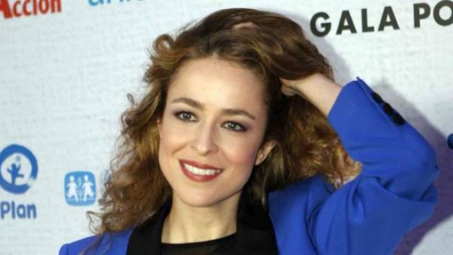 La actriz española Silvia Abascal, en una gala infantil en diciembre de 2014.