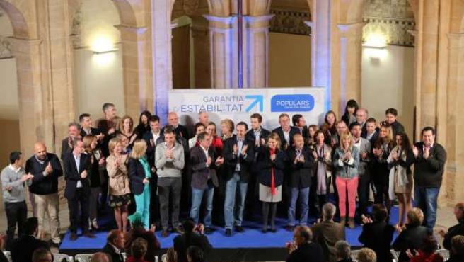 Presentación de la candidatura del PP en Llucmajor