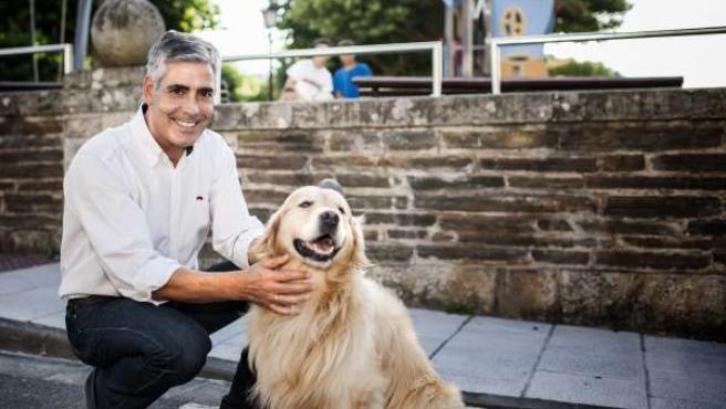 Jaime Castiñeira, candidato del PP de Lugo