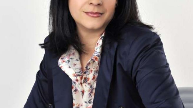 La candidata de Ciudadanos a la Alcaldía de Lugo, Olga Louzao