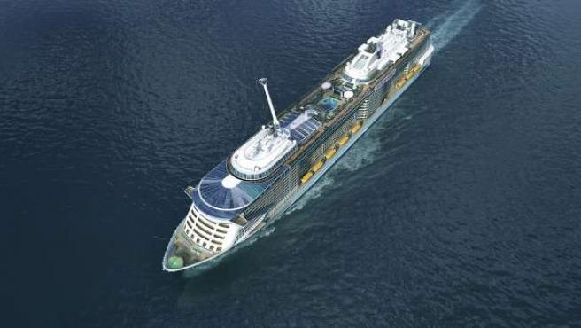 Anthem os the seas barco innovación puerto mar crucero royal caribbean