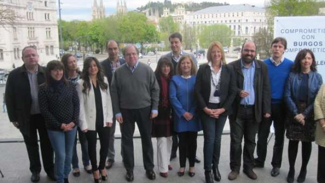 Candidatos PP Burgos