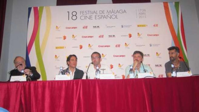 Carlos Bardem, Alberto Ammann, Barney Elliot, Dorff, La Deuda película festival