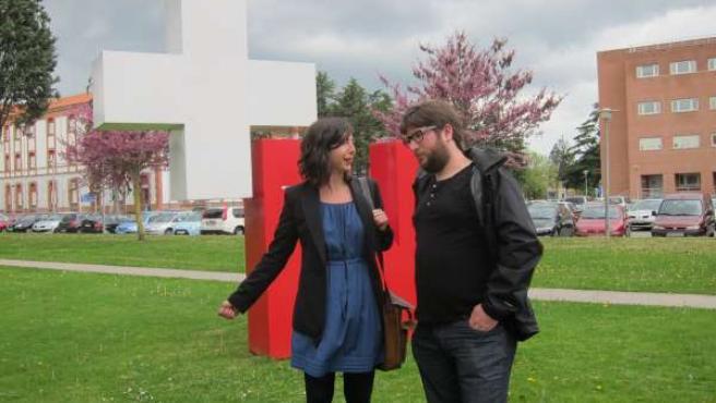 Laura Pérez y Miguel Urbán