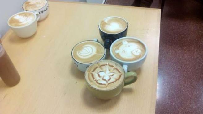 Presentación de cafés