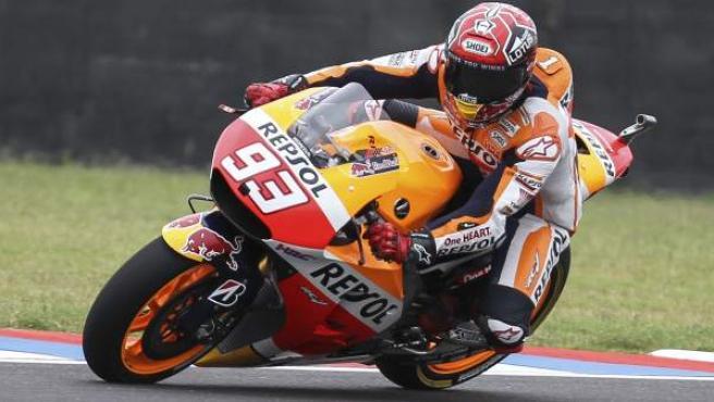 Marc Márquez, en el GP de Argentina de MotoGP.