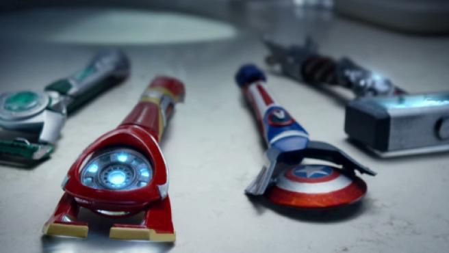 Galería: Las maquinillas de afeitar de los Vengadores