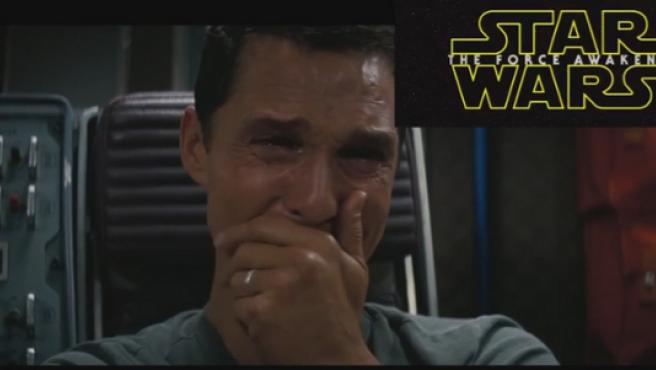 Vídeo: Matthew McConaughey ve el tráiler de 'Star Wars: El despertar de la Fuerza'