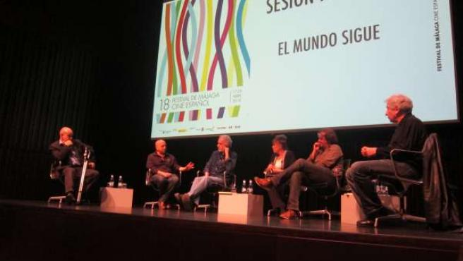 Festival Cine Málaga, Sacristán, Trueba, Gemma Cuervo, Resines, Fernan Gómez,