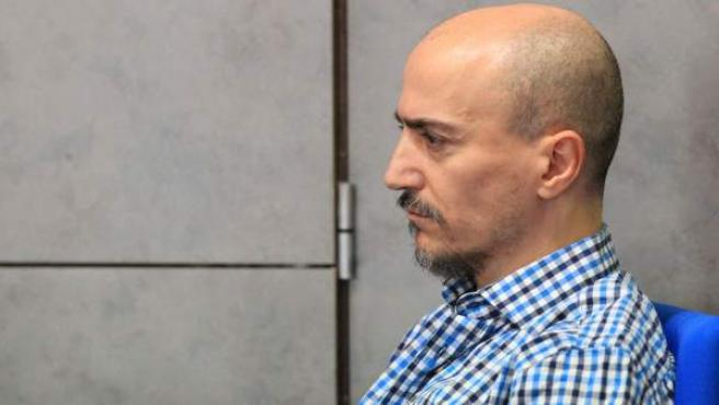 Juan Carlos Aguilar, el falso monje shaolín, durante la segunda sesión del juicio contra él por asesinato.