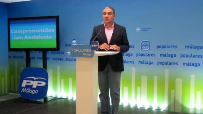Elías Bendodo (PP-A) en Málaga