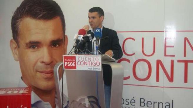 El candidato del PSOE a la Alcaldía de Marbella, José Bernal