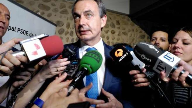 El expresidente del Gobierno de España José Luis Rodríguez Zapatero