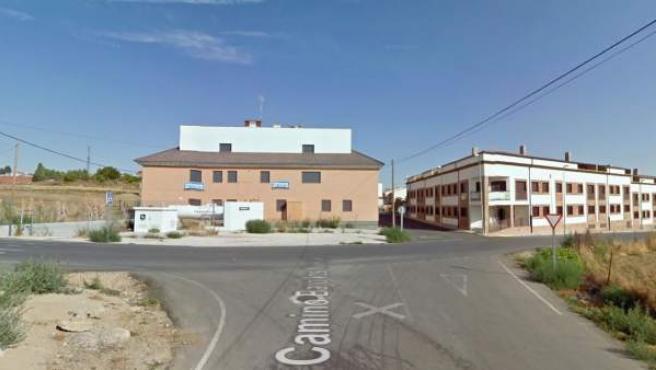 Imagen de la calle Camino Bajo los Nuevos del municipio toledano de Recas.