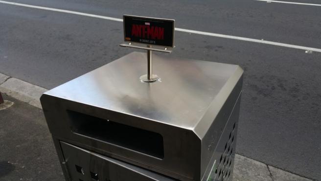 'Ant-Man' tiene publicidad minúscula