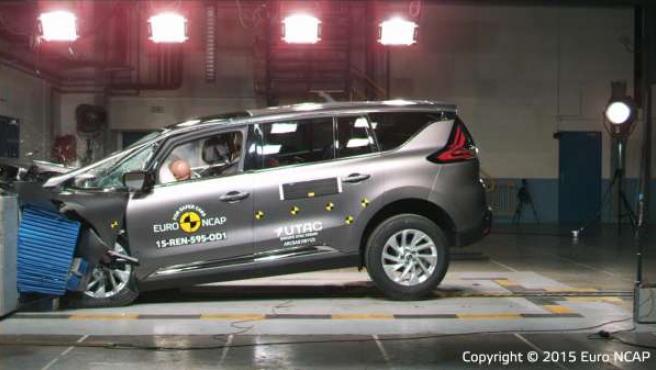 Renault Espace en el test Euro NCAP