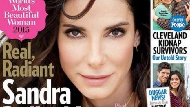 Sandra Bullock, la mujer más guapa del mundo según la revista 'People'.