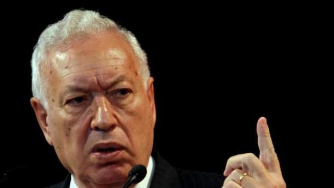El ministro de Asuntos Exteriores, José García-Margallo.