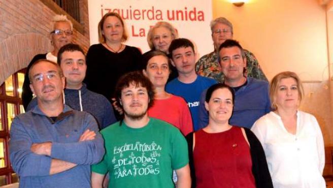 IU presenta su candidatura al Ayuntamiento de Fuenmayor