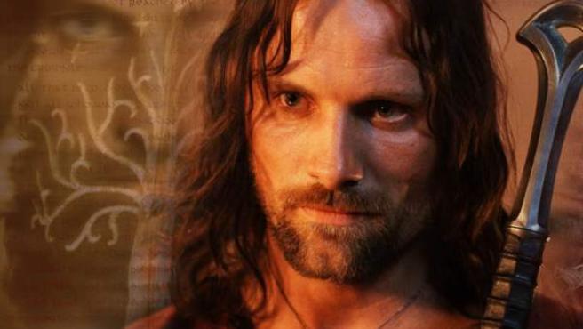 Viggo Mortensen en el papel de Aragorn en 'El Señor de los anillos'.
