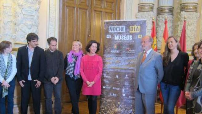 El alcalde de Valladolid presenta la programación de la noche de los museos