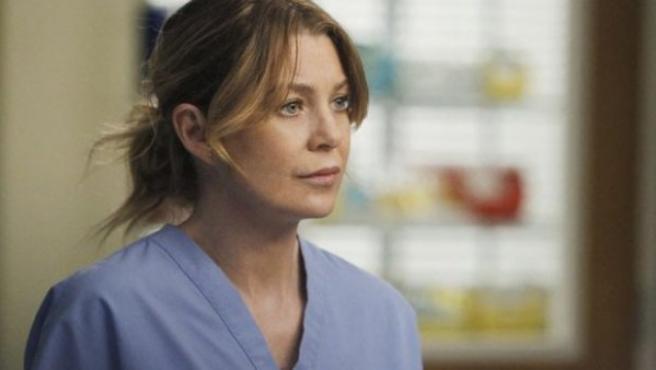 Ellen Pompeo en 'Anatomía de Grey'.