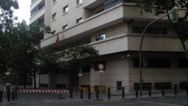 Edificio de la Audiencia Nacional en Madrid.
