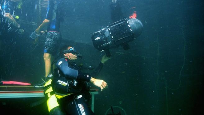 Así se hace cine debajo del mar